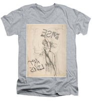Rise Art Lives - Men's V-Neck T-Shirt
