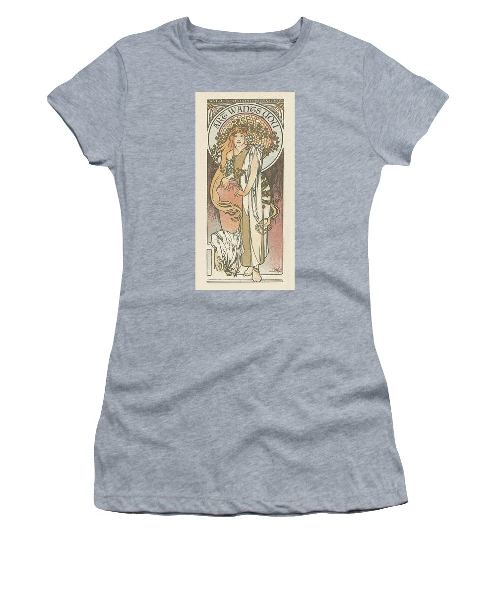 Rise Art Wants You                                                       - Women's T-Shirt (Athletic Fit)
