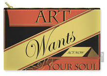 Rise Art Wants Your Soul - Carry-All Pouch