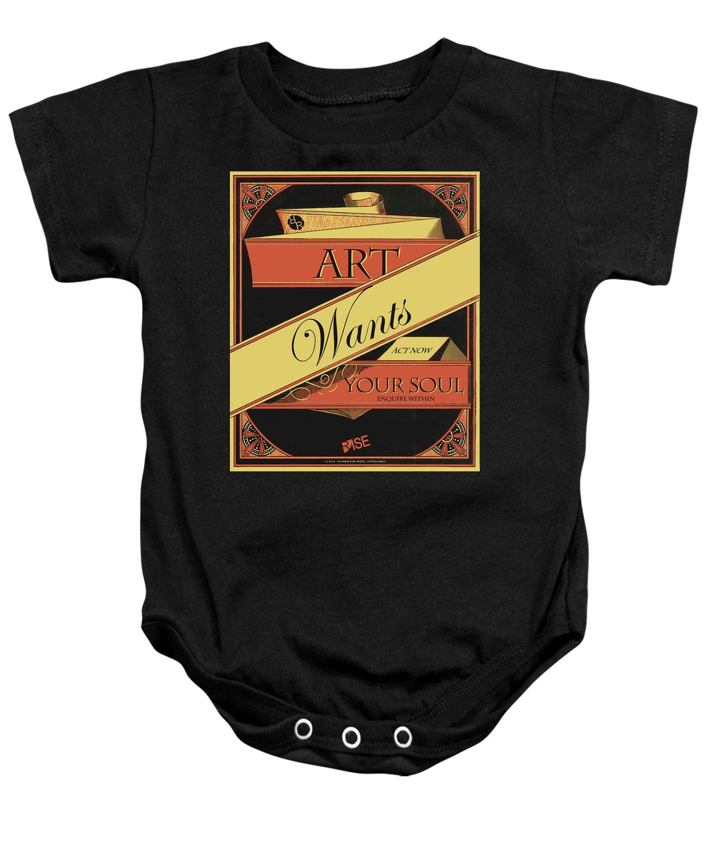 Rise Art Wants Your Soul - Baby Onesie