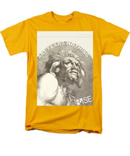 Rise Fear Nothing - Men's T-Shirt  (Regular Fit)