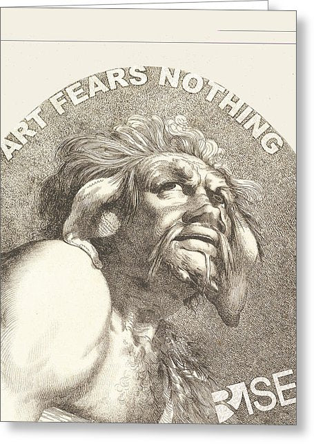 Rise Fear Nothing - Greeting Card