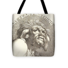 Rise Fear Nothing - Tote Bag