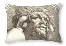 Rise Fear Nothing - Throw Pillow