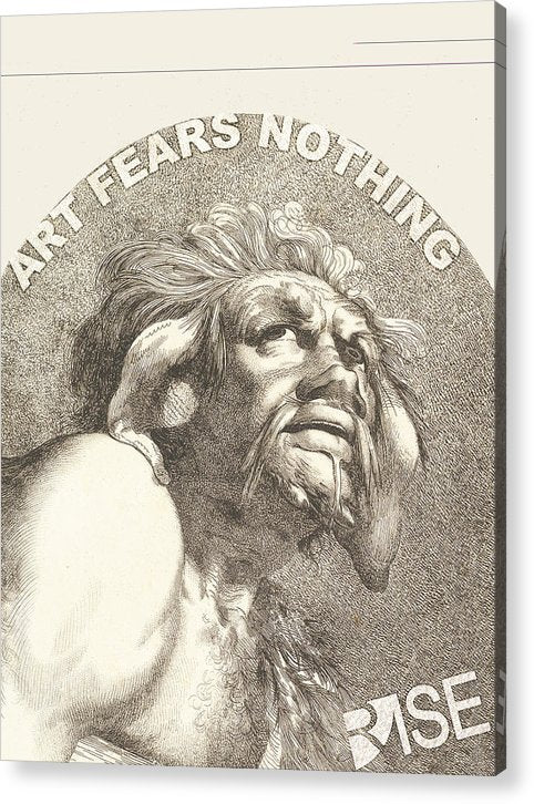 Rise Fear Nothing - Acrylic Print