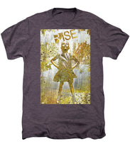Rise Fearless Girl - Men's Premium T-Shirt