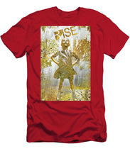 Rise Fearless Girl - Men's T-Shirt (Athletic Fit)
