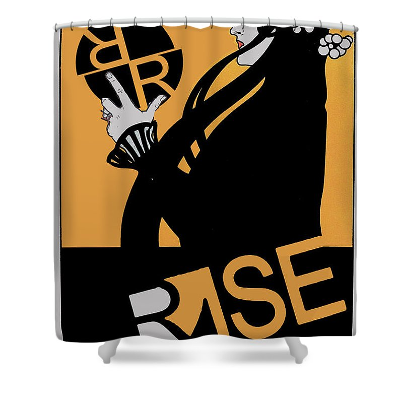 Rise Hype - Shower Curtain