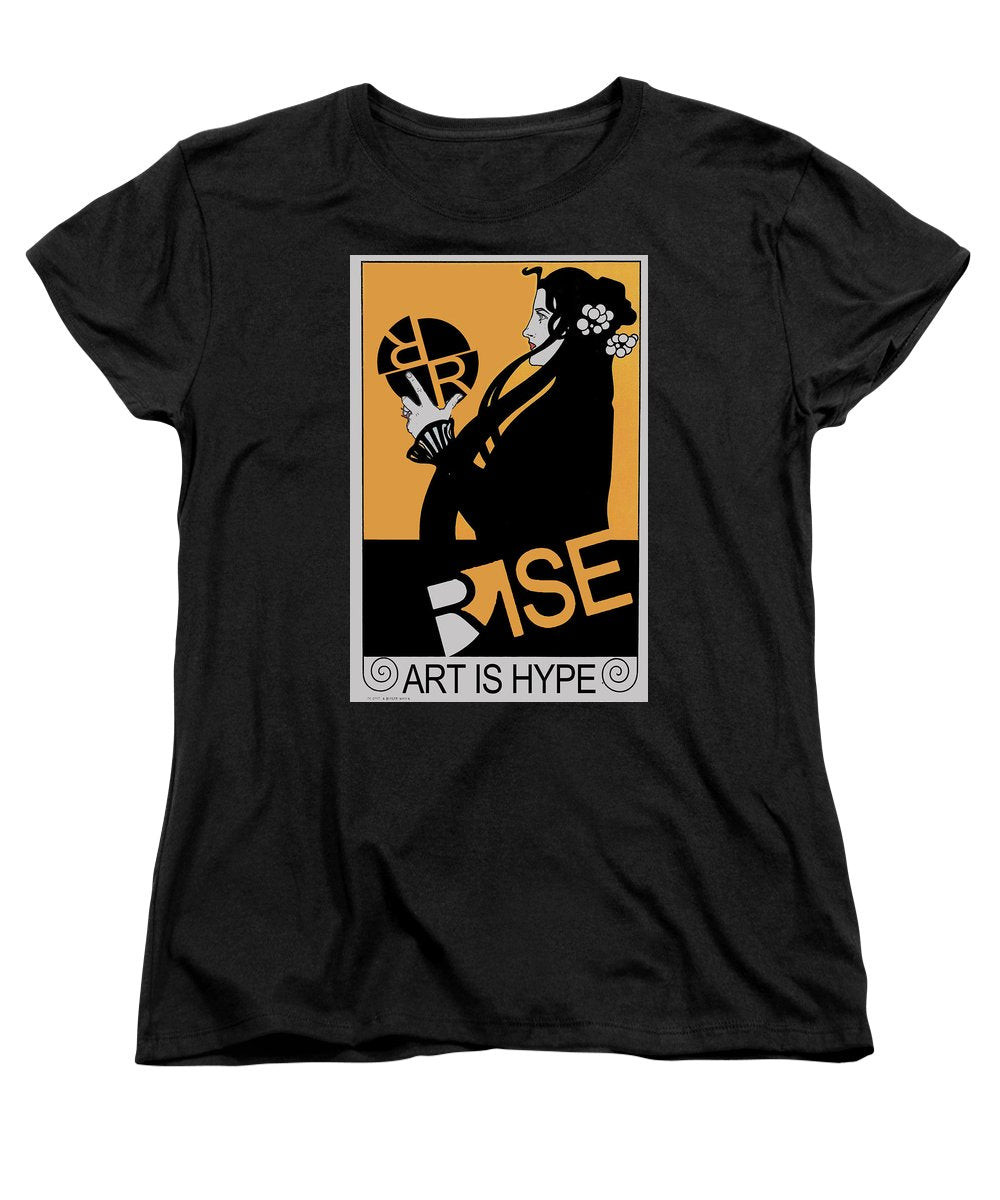 Rise Hype - Women's T-Shirt (Standard Fit)