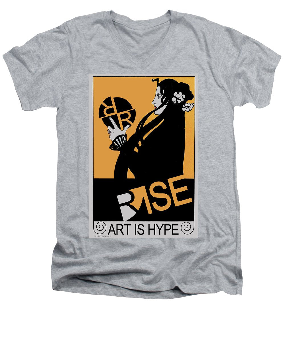 Rise Hype - Men's V-Neck T-Shirt