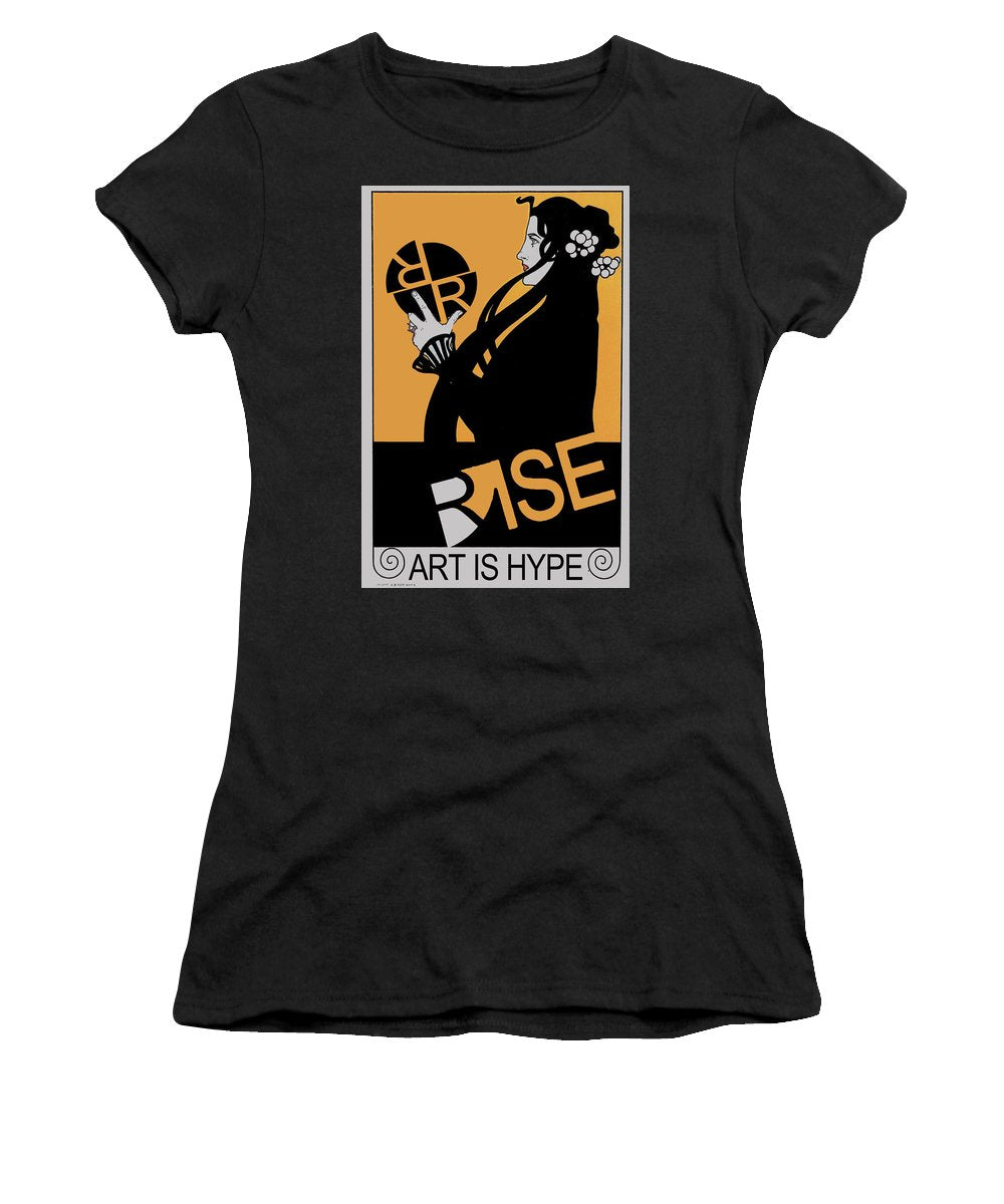 Rise Hype - Women's T-Shirt (Athletic Fit)