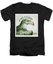Rise In Art We Trust                                   - Men's V-Neck T-Shirt
