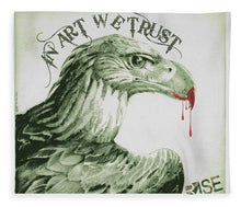 Rise In Art We Trust                                   - Blanket