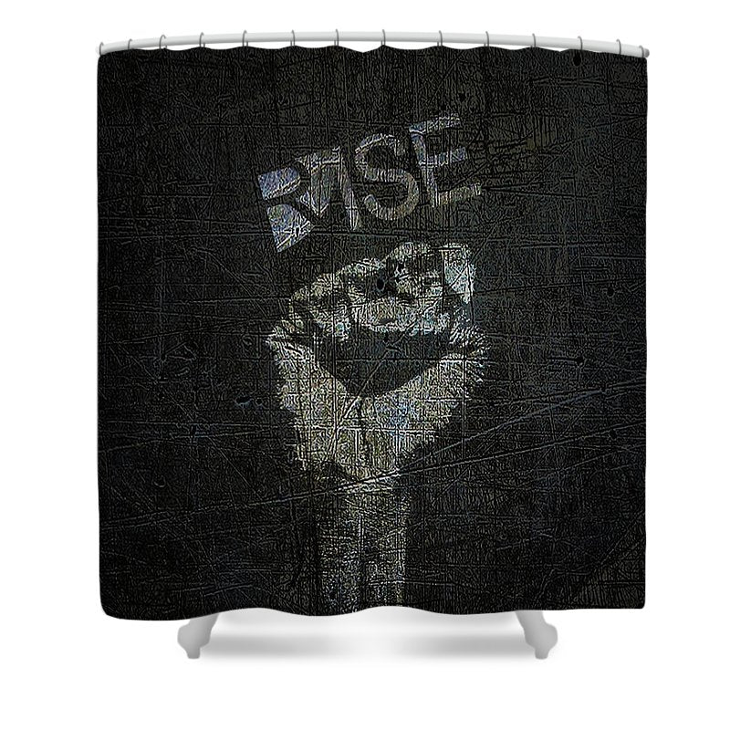 Rise Power - Shower Curtain