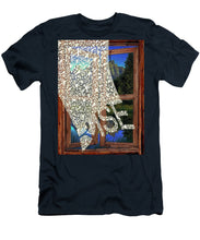 Rise Window - Men's T-Shirt (Athletic Fit)