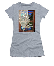 Rise Window - Women's T-Shirt (Athletic Fit)