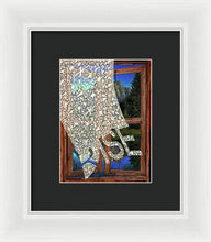 Rise Window - Framed Print