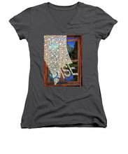 Rise Window - Women's V-Neck (Athletic Fit)
