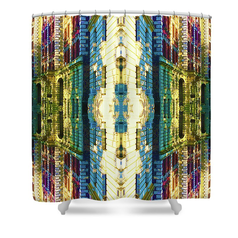 Riverside And 92nd - Shower Curtain
