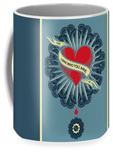 Rubino Blood Heart - Mug