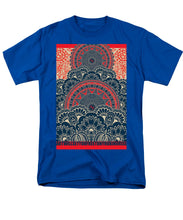 Rubino Blue Zen Namaste - Men's T-Shirt  (Regular Fit)
