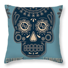Rubino Dia De Muertos - Throw Pillow