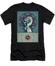 Rubino Fist Mandala - Men's T-Shirt (Athletic Fit)