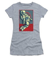 Rubino Float Astronaut - Women's T-Shirt (Athletic Fit)