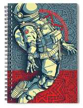 Rubino Float Astronaut - Spiral Notebook