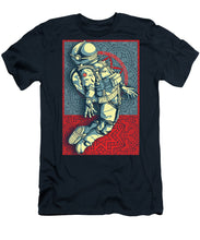Rubino Float Astronaut - Men's T-Shirt (Athletic Fit)