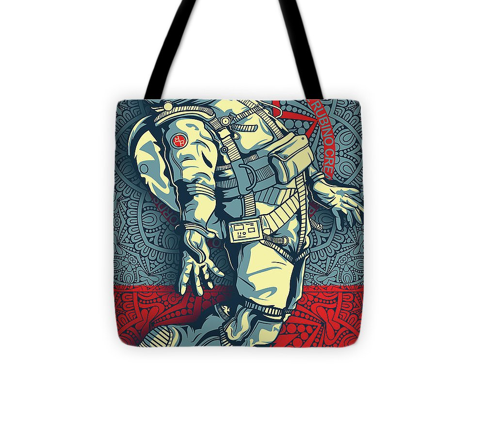 Rubino Float Astronaut - Tote Bag