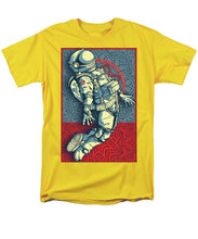 Rubino Float Astronaut - Men's T-Shirt  (Regular Fit)