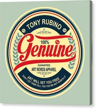 Rubino Genuine - Canvas Print