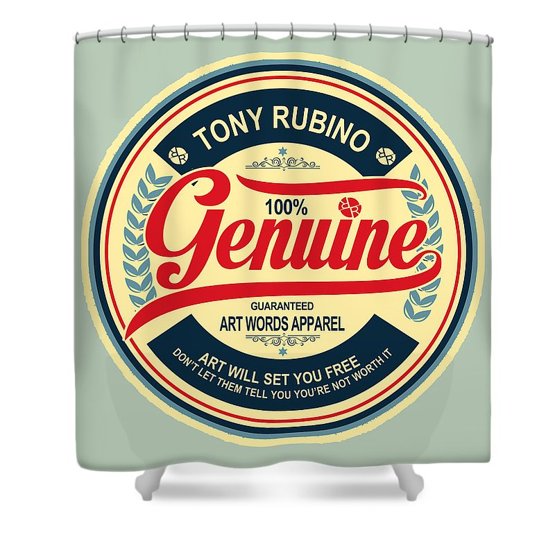 Rubino Genuine - Shower Curtain