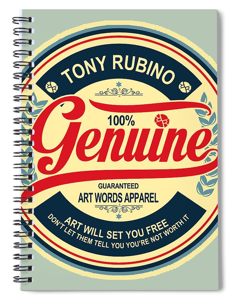 Rubino Genuine - Spiral Notebook
