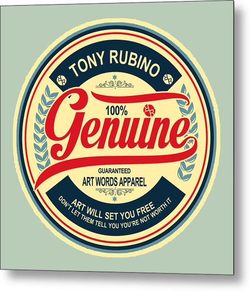 Rubino Genuine - Metal Print