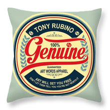 Rubino Genuine - Throw Pillow