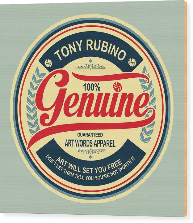 Rubino Genuine - Wood Print