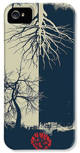 Rubino Grunge Tree - Phone Case
