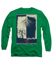 Rubino Grunge Tree - Long Sleeve T-Shirt