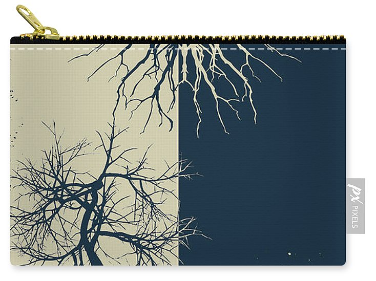 Rubino Grunge Tree - Carry-All Pouch