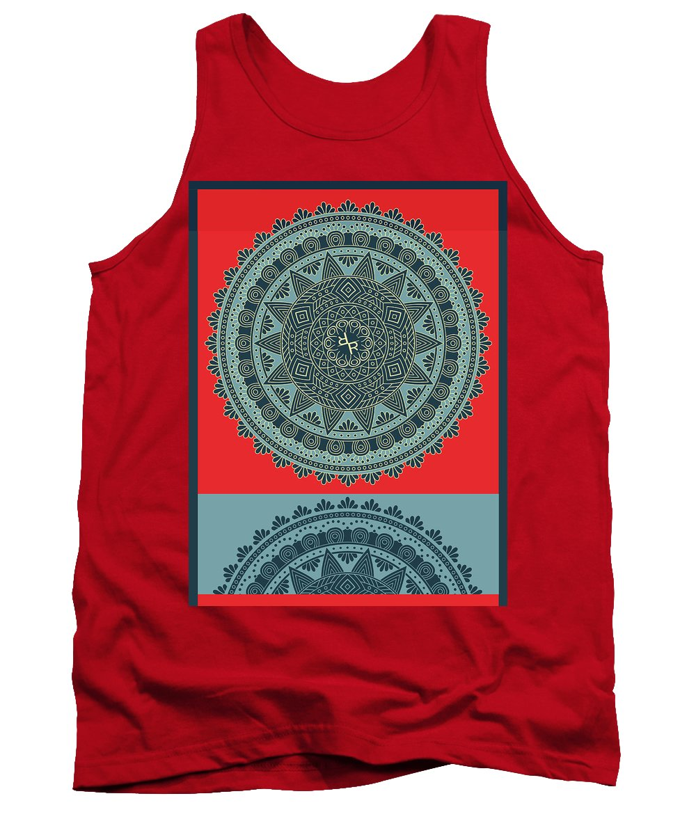 Rubino Indian Mandala - Tank Top