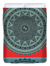 Rubino Indian Mandala - Duvet Cover
