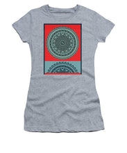 Rubino Indian Mandala - Women's T-Shirt (Athletic Fit)