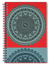Rubino Indian Mandala - Spiral Notebook