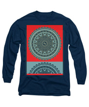 Rubino Indian Mandala - Long Sleeve T-Shirt