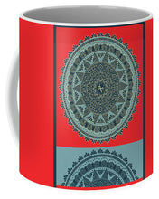 Rubino Indian Mandala - Mug