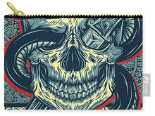 Rubino Logo Tattoo Skull - Carry-All Pouch