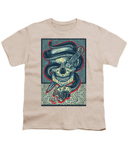 Rubino Logo Tattoo Skull - Youth T-Shirt