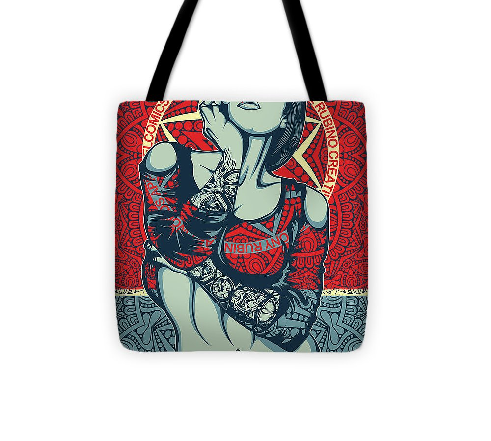 Rubino Mandala Woman Cool - Tote Bag